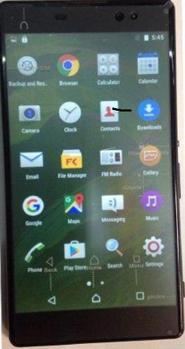 دانلود فایل فلش گوشی چینی Sony XA-PLUS
