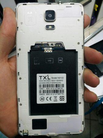 فایل فلش TXL N9100 با پردازنده MT6572