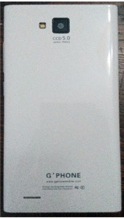 فایل فلش Gphone G550S با پردازنده MT6572