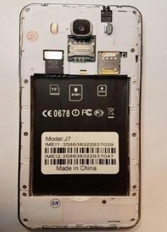فایل فلش سامسونگ چینی J7 با پردازنده MT6580