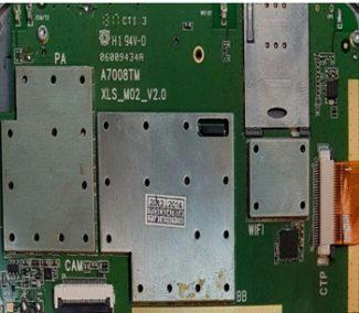 فایل فلش تبلت چینی HX-M02 با پردازنده MT6575