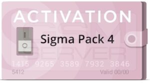 اکتیو و فعالسازی پک ۴ باکس سیگما